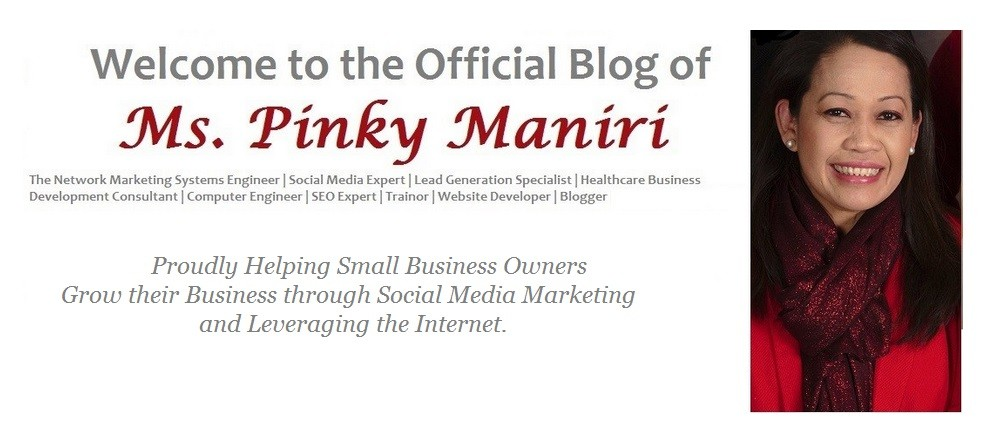 Ms. Pinky Maniri – The Network Marketing Engineer