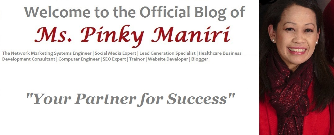 Ms. Pinky Maniri - The Network Marketing Engineer